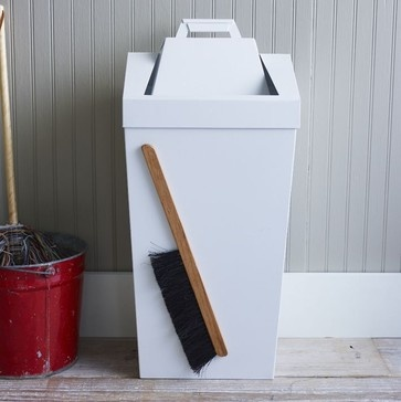 Brendan Ravenhill Dustbin - contemporary - mops brooms and dustpans - - by West Elm