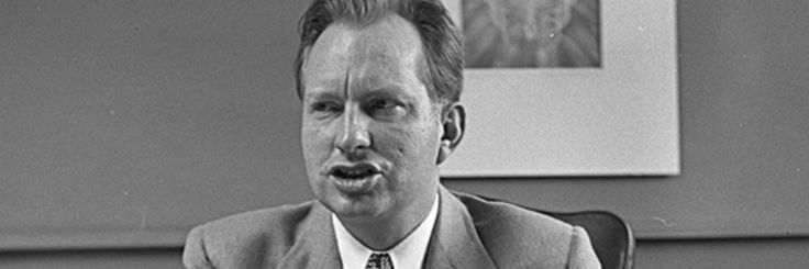 """11/14/17 Recently released FBI files show L. Ron Hubbard offering to inform on his own organization  Hubbard, blaming a bad breakup on Communists, pledged his services to fight the Red Menace, including the names and fingerprints of every member of his Scientology precursor  ...asserting that """"Dianetics is important politically"""" because """"it indicates ways of controlling people."""""""