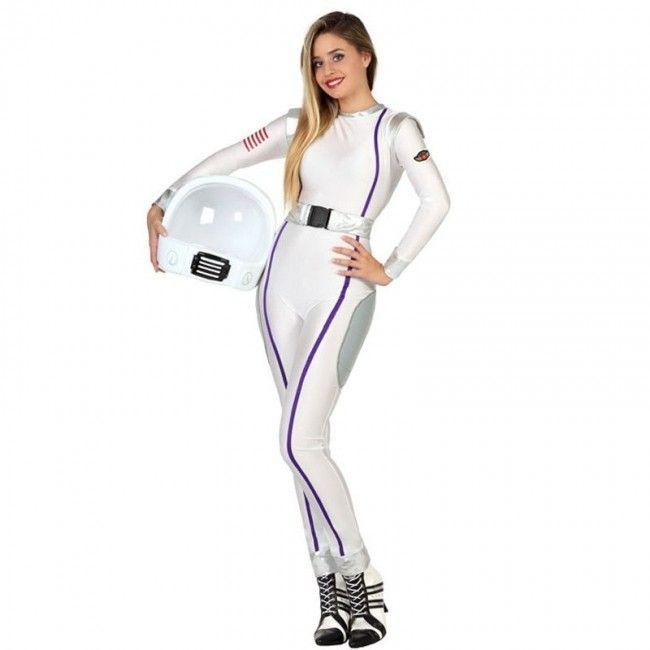 Disfraz de Astronauta mujer americana nasa