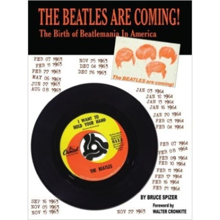 BHFO The Beatles Are Coming!: The Birth of Beatlemania in America Music Book