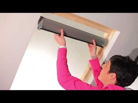Buy VELUX ® Compatible Cream Blinds from Blinds 2go.  Made to fit VELUX ®  Roof Windows.