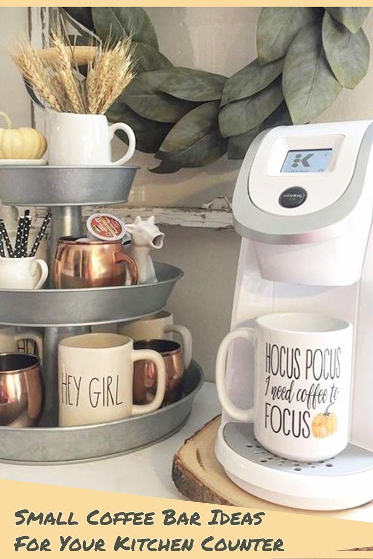 Kitchen Coffee Station Ideas Diy Home Coffee Bar Set Ups And Decorating Ideas Coffee Bar Home Apartment Decor Dorm Room