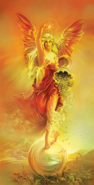 """FORTUNE"" The Angel of Wealth   Anna Ewa Miarczyńska: ""FORTUNE"" The Angel of Wealth   Anna Ewa Miarczyńska"