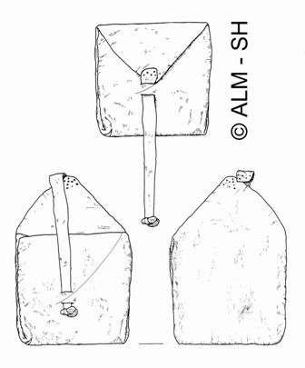 Elisenhof bag - perfect for carrying contact cards, jewellery or money in, and very simple to make