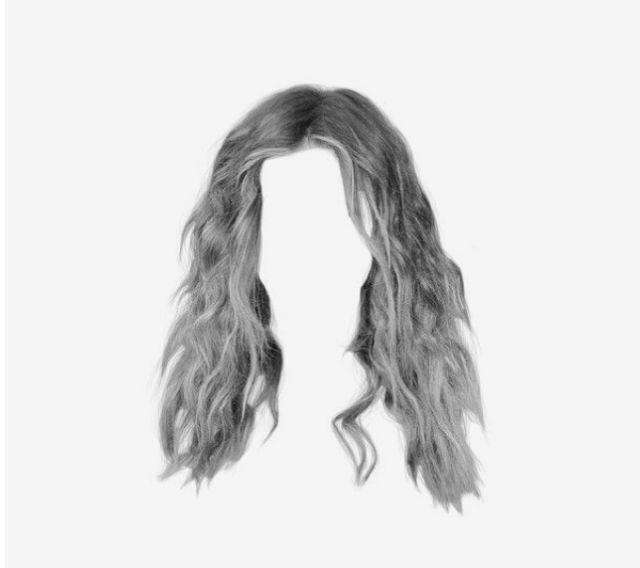 Pin By Caydie Draper On Pngs Hair Png Aesthetic Hair Doll Hair