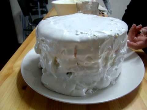 rainbow cake in time lapse.: Cake Tutorial, Cakes Connection, Cakes Recipes, Cakes Evah, Cakes Process, Birthday Princesses, Cakes Bak, Cake Recipes, Birthday Cakes