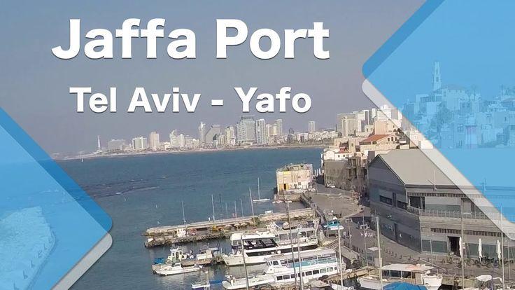 Jaffa port, Tel Aviv - Yafo (quadcopter)