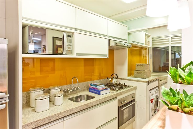 Cores da Casa: Decoração: Dividindo a Cozinha e a Lavanderia