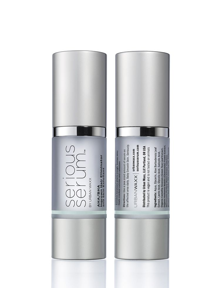 Serious Serum - great for after waxing/shaving... no more ingrown hairs or razor burn!