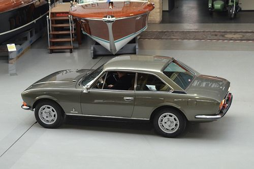 Peugeot 504 Coupe V6 Pininfarina by Transaxle (alias Toprope), via Flickr
