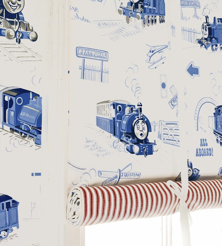 How To Style | Boys Rooms | Scenic Thomas Fabric by Jane Churchill | Jane Clayton