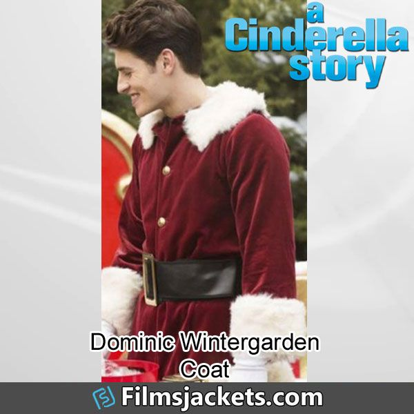 A Cinderella Story Christmas Wish Gregg Sulkin Red Coat In 2020 A Cinderella Story Cinderella Christmas Wishes