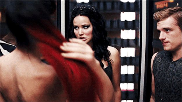 Hunger Games gif. Love Katniss and Peeta's faces here. I knew a lot of these...but still interesting
