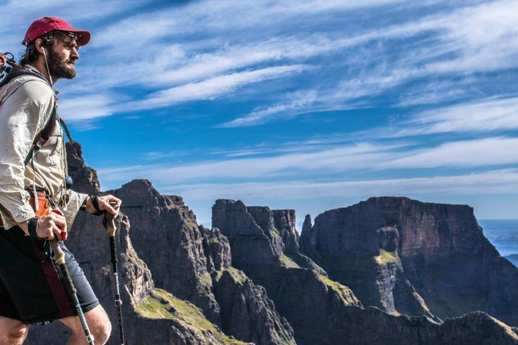 Hiking trails in the Drakensberg, KwaZulu-Natal with Itchyfeet SA. This would be hiking in the one and only: the Ukhahlamba Drakensberg, South Africa's number 1 mountain range. The name says everything! Tough, huge and rugged, spectacular and beautiful! #dirtyboots #hiking #kzn #southafrica