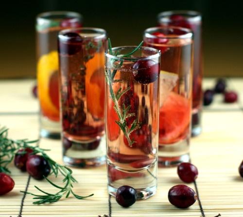 Cranberry Sparkler 5 Ways — Tokyo Terrace (RECIPE)