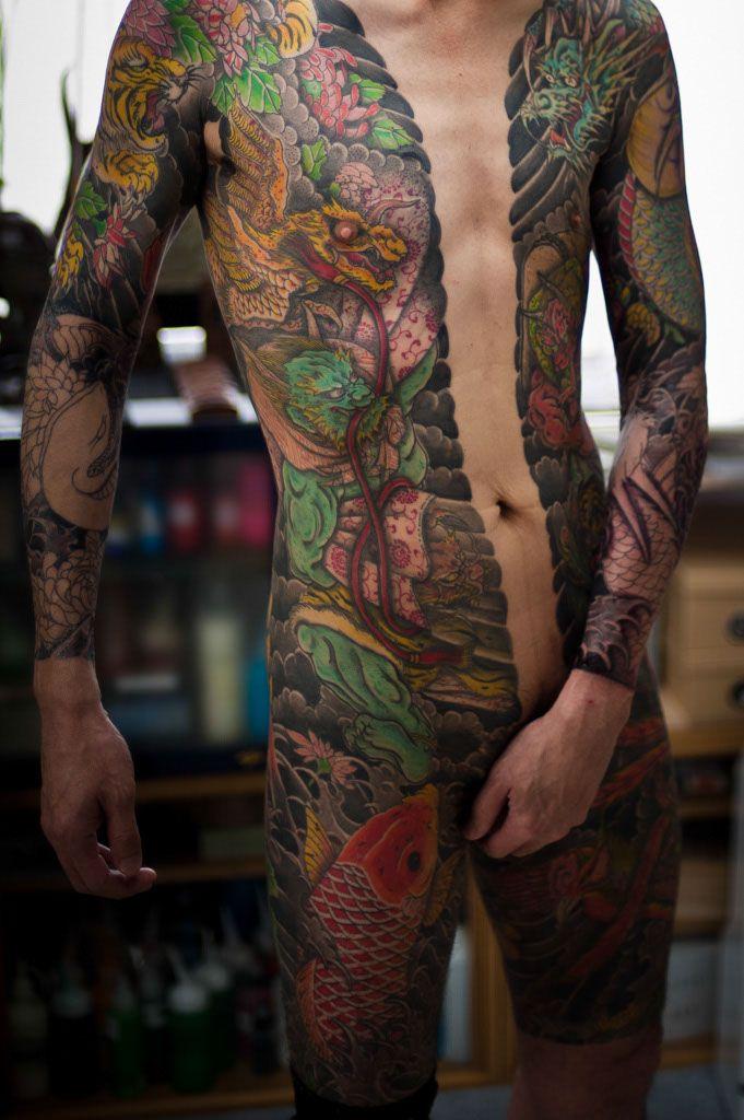 women body tattoos nude