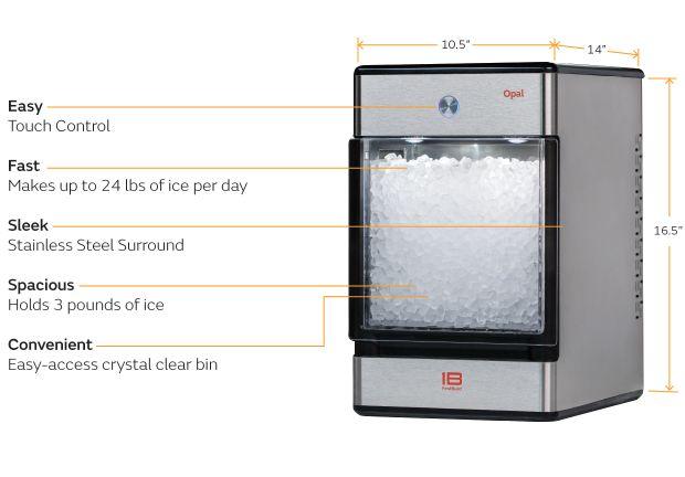 米GEが開発した個人向け製氷機