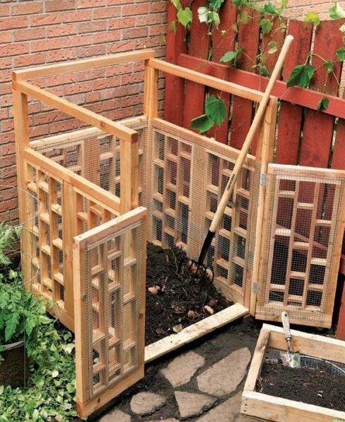 comment fabriquer un composteur - Comment Fabriquer Un Composteur Exterieur