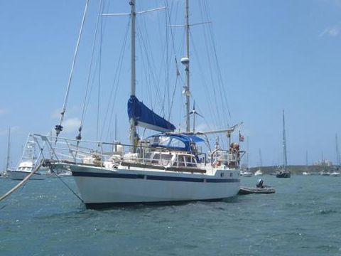 Roberts 43 for sale - Daily Boats | Buy, Review,69000 us , marina royale st martin french  +599553 little ship company