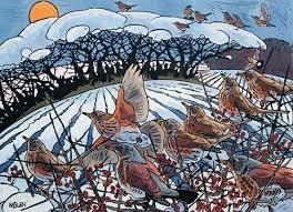 Andrew Haslen - Winter Thrushes