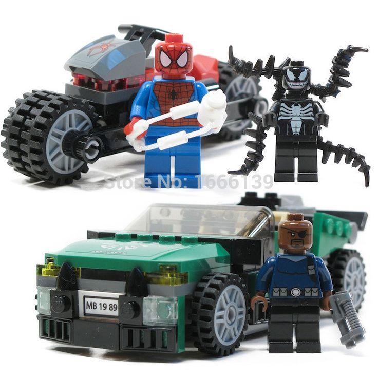 237 + шт марвел яд ник фьюри мстители супер герой цифры Minifigures Buliding кирпичный блок игрушки просветить кирпичные игрушки