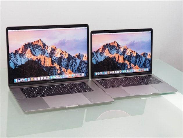 Enfin! Comme d'autres clients, nous avons reçu aujourd'hui les MacBook Pro Touch Bar que nous avions commandés dès l'ouverture des réservations, le 27 octobre.