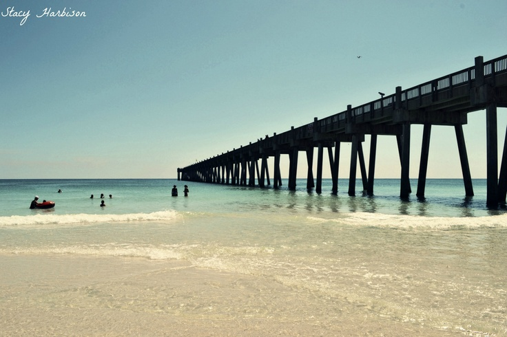 17 best images about pensacola beach on pinterest on the for Pensacola beach fishing pier