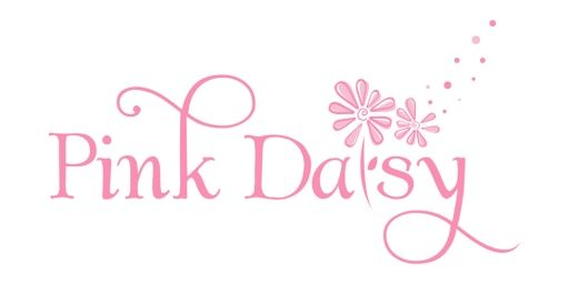 Pink Daisy Flower Shop Logo Design Idea | logonerds.com