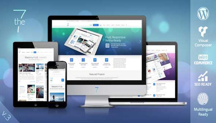 The7 Nulled Wordpress Premium Theme V6 6 1 100 Free Download Wordpress Theme Wordpress Theme Responsive Corporate Wordpress Themes