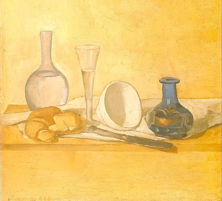 Giorgio Morandi - Google Search This is my favorite Giorgio Morandi because I like the colors of this still life and I feel like out of all his drawings this is the only one where all the objects go together in a way.