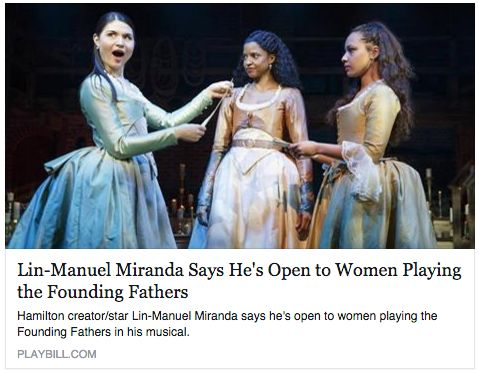 Lin Manuel Miranda is a badass. Omfg I need to be a Broadway star like right now.