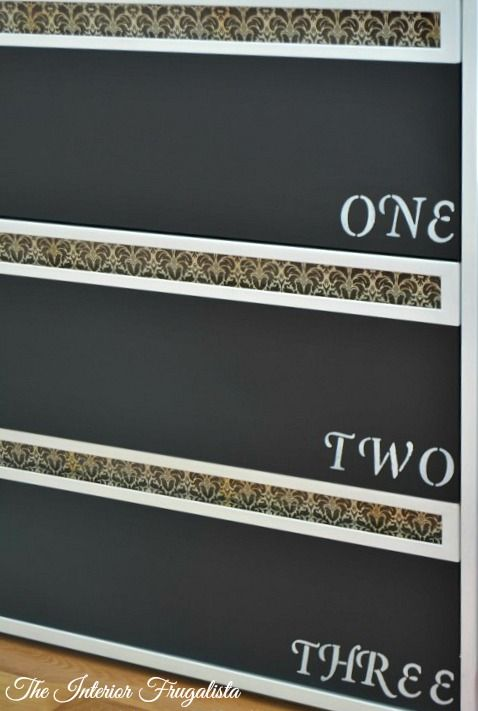 Lateral File Cabinet Numbered Drawer Fronts | The Interior Frugalista