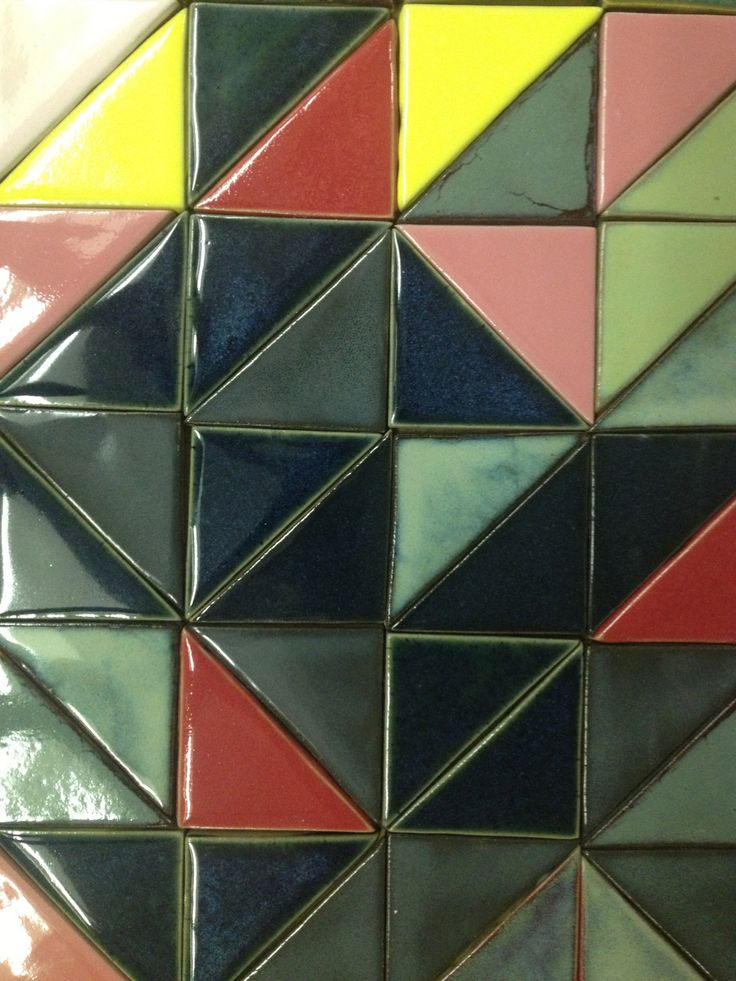 Half-square handmade tiles Officially selected World Design Capital Cape Town 2014 project. Watch this space...
