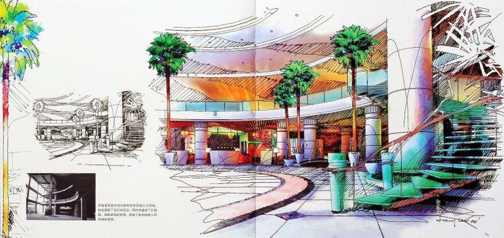 [Ebook] Design Sketch by Jonny Lam - sách phác thảo kiến trúc |Diễn Họa Kiến Trúc