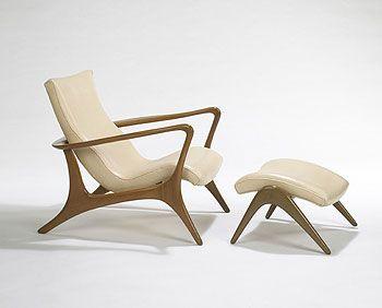 Vladimir Kagan Contour Low Back Lounge Chair. Mid Century Chair, Mid  Century Furniture ...