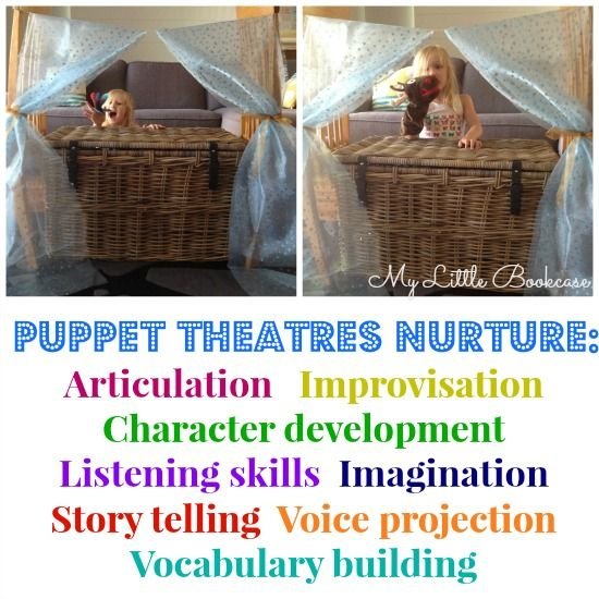 The learning benefits of puppet theatres by My Little Bookcase