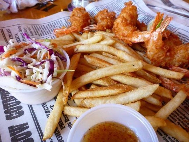 Dumb Luck Coconut Shrimp is listed (or ranked) 2 on the list Bubba Gump Shrimp Company Recipes