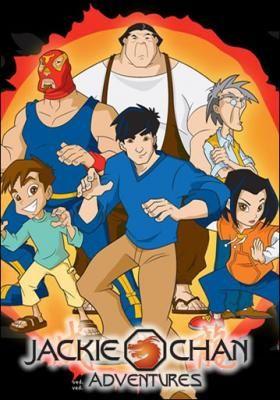 As aventuras de Jackie Chan. Uma das melhores animações de  Artes Marciais.