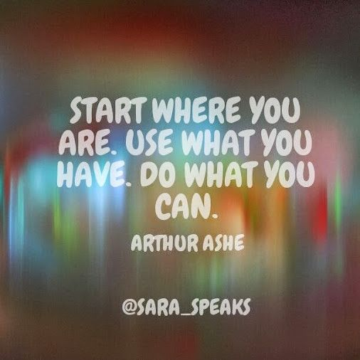 Start where you are. #motivation Health and Happiness - Google+