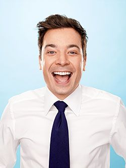 Jimmy Fallon just makes me laugh my pants off..so so talented, wish he'd stop by, as if.. :)