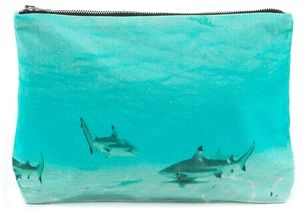 Colors Of styles - Samudra Moorea Shark Pouch