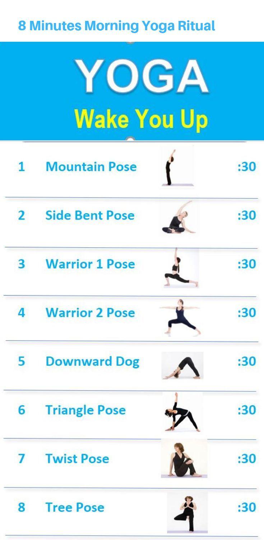 8 Minuten Morgen Yoga Ritual um dich aufzuwecken – Sport und Frauen