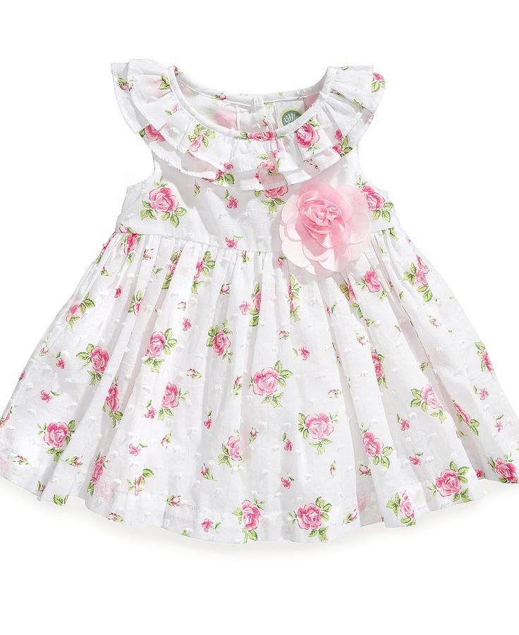 Easter - Little Me Baby Girls Floral Dress