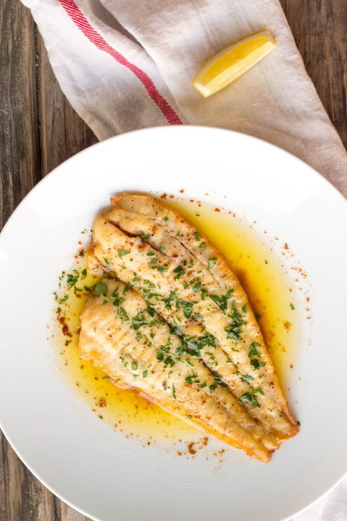 This Flounder Meunière can be on the table in less than 15 minutes! (Video)
