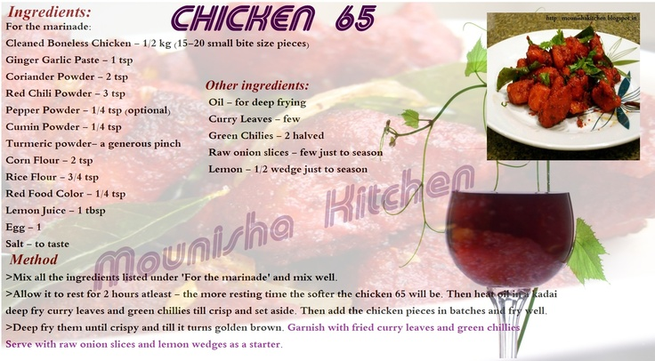 Chicken 65