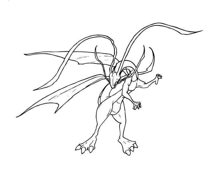 Un dragon hecho por mí