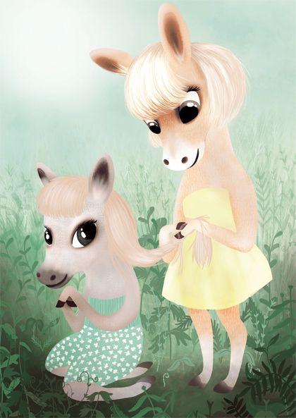 My little pony sister!