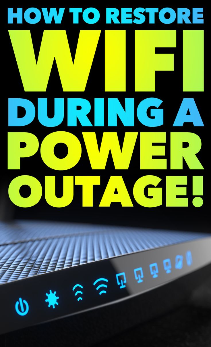 We have all grown to depend on in the internet for information, communication and so much more! Why would you let a common power outage get in the way of that when you typically do not have to? This simple hack could make you a HERO with your family during a power outage!! This info is mind-blowing!!