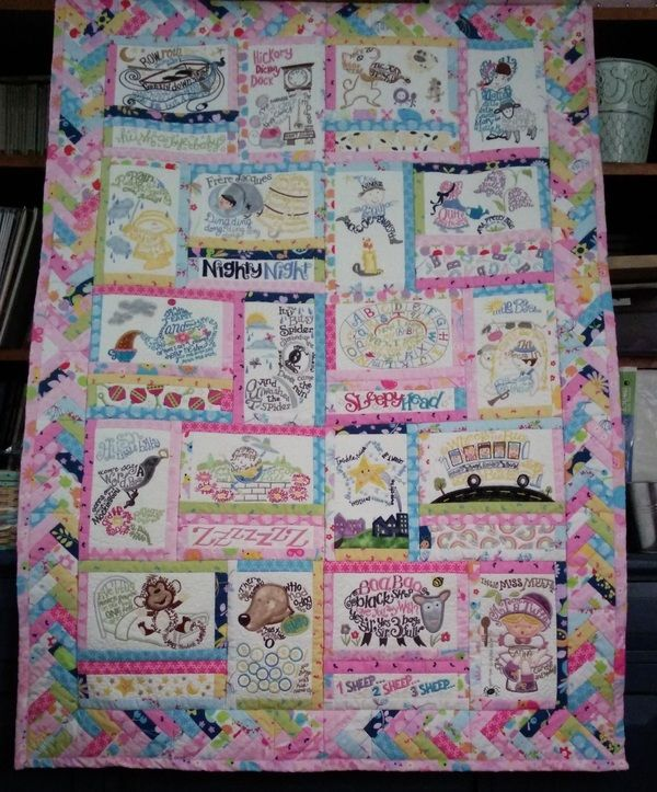 August 9 - Today's Featured Quilts - 24 Blocks
