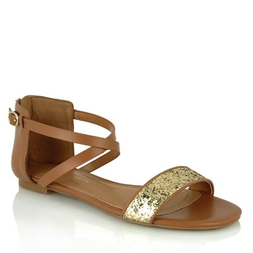 Charles & Keith sparkly sandals